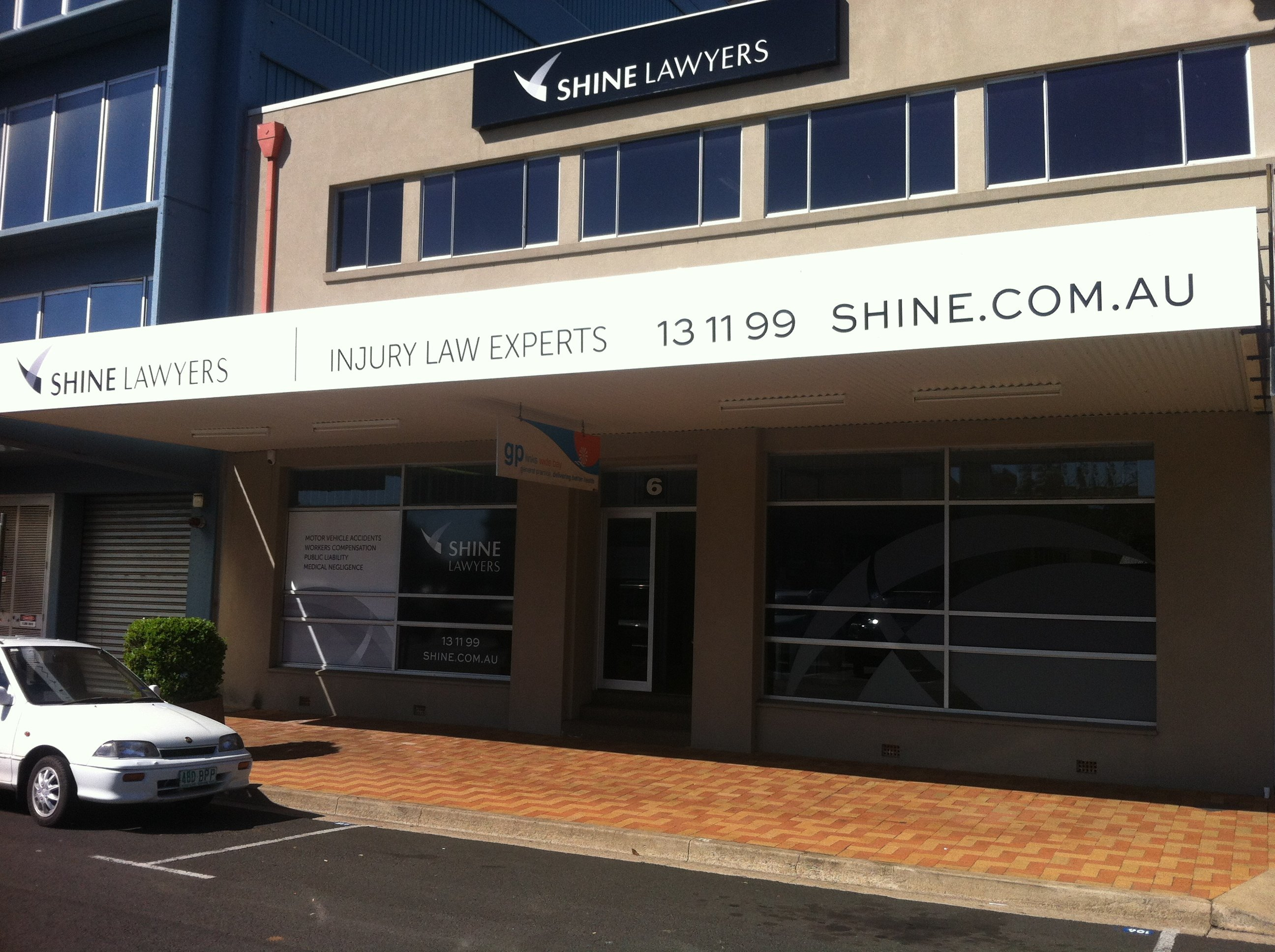 Shine Lawyers Bundaberg Shopfront