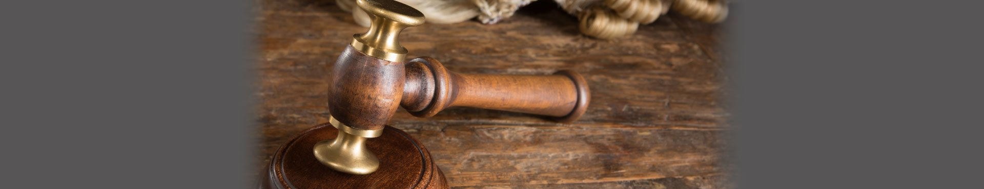 A gavel and a wig | Shine Lawyers