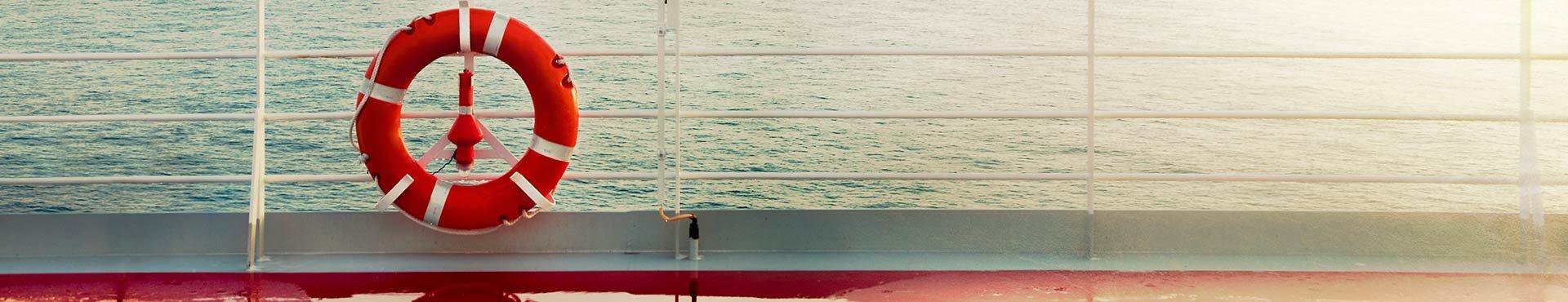 Life ring on cruise ship | Shine Lawyers
