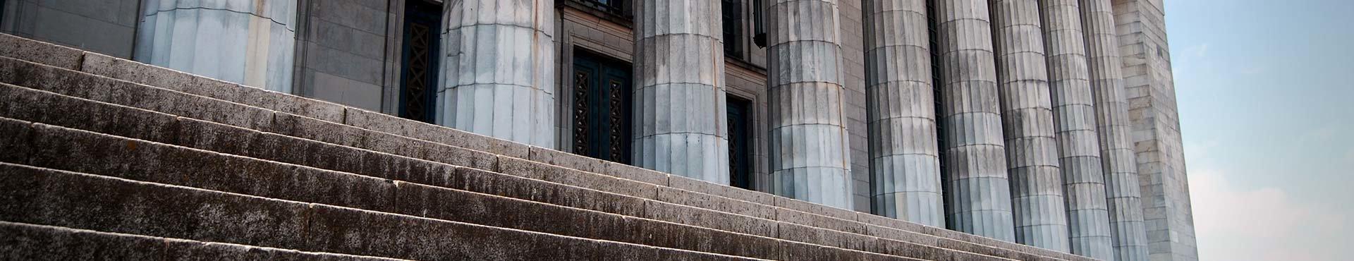Outside a courtroom | Shine Lawyers