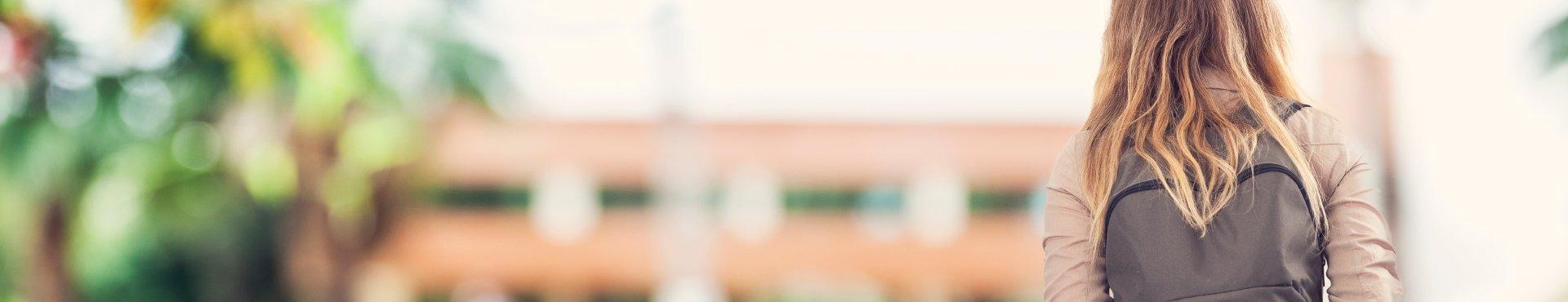 Girl at university | Shine Lawyers