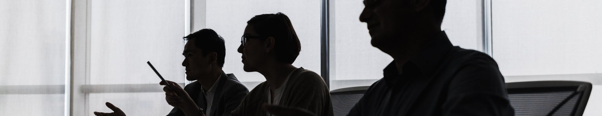 Meeting silhouette | Shine Lawyers