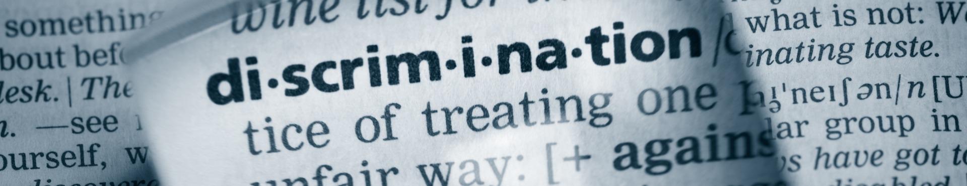 Discrimination definition | Shine Lawyers