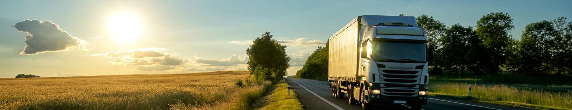 Truck driving down the highway | Shine Lawyers